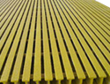 Pultruded FRP 1/8&#34 x 4' x 8' gritted sheet